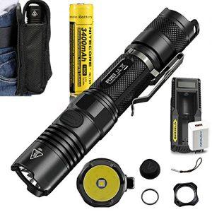 Zoom 5 Modes Tactical Flashlight Kit SOLARAY PRO ZX-1 $59.95 1200 Lumens