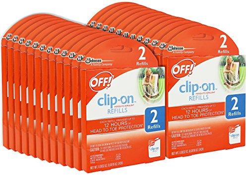 OFF! Clip On Mosquito Repellent Refill 48 Refills